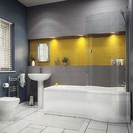 Ysk Tadilat – Bahçelievlerdekorasyon: minimal tarz tarz Banyo