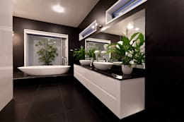 Daire Tadilatları  – Sarıyerdekorasyon: modern tarz Banyo