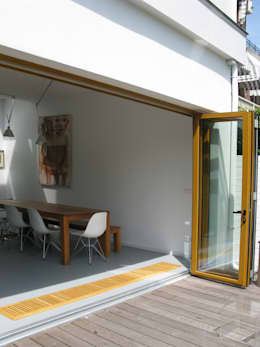 vouwpui: moderne Huizen door Boks architectuur