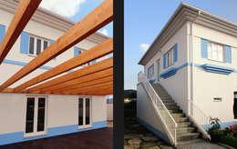 Maisons de style de stile Rural par EVA   evolutionary architecture