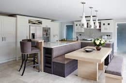 The Arcadian Kitchen: modern Kitchen by Mowlem&Co
