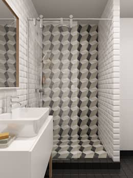 scandinavian Bathroom by INT2architecture