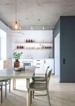 Projekty,  Kuchnia zaprojektowane przez INT2architecture