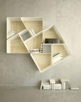 modern Study/office by KAMBIAM (NeuroDesign Furniture for People)