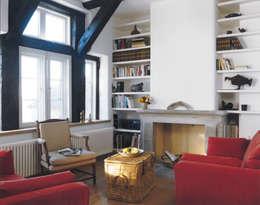 Projekty,  Salon zaprojektowane przez v. Bismarck Architekt