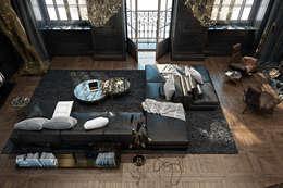 Paris apartment.: Гостиная в . Автор – Diff.Studio