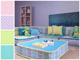 Sala infantil: Recámaras infantiles de estilo moderno por MARIANGEL COGHLAN