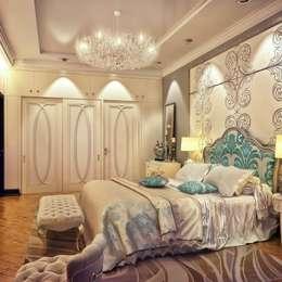 Sweet Home Design: eklektik tarz tarz Yatak Odası