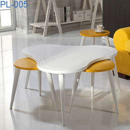 İBELYA GROUP DAN. DIŞ TİCARET – PL-005 Coffee Table: akdeniz tarzı tarz Oturma Odası