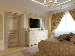 غرفة نوم تنفيذ ДизайнМастер