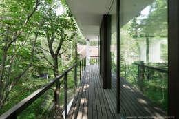 Tерраса в . Автор – atelier137 ARCHITECTURAL DESIGN OFFICE