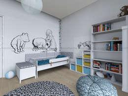 Studio Malina: iskandinav tarz tarz Çocuk Odası