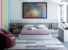 moderne Slaapkamer door Arienti Design