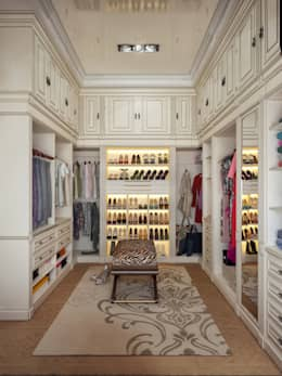 modern Dressing room by Sweet Home Design