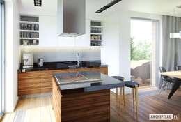 modern Kitchen by Pracownia Projektowa ARCHIPELAG