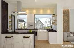 ห้องครัว by Pracownia Projektowa ARCHIPELAG