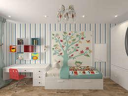 industrial Nursery/kid's room by студия Виталии Романовской