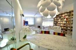 Comedores de estilo minimalista por karen feldman arquitetos associados