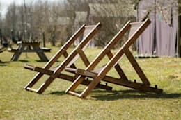 Plattelandsstoel: landelijke Tuin door Toen=Hier