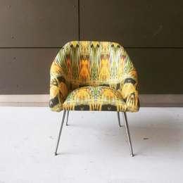 kolekcja Vintage Fields: styl , w kategorii Salon zaprojektowany przez Wzorywidze.pl
