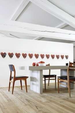 Paredes y pisos de estilo ecléctico por Élitis
