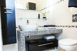 scandinavische Badkamer door Nika Loiko Design