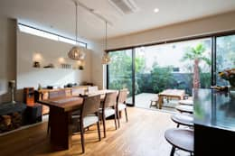 asian Dining room by W.D.A