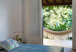 Habitaciones de estilo rústico por Lucia Manzano