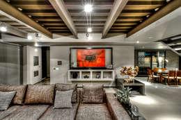 industrial Living room by Con Contenedores S.A. de C.V.