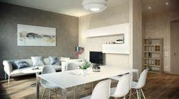 modern Dining room by AK srl