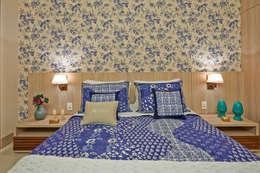 Projekty,  Sypialnia zaprojektowane przez Gláucia Britto