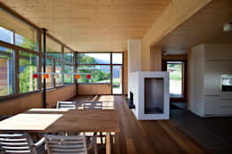 Livings de estilo moderno por pedit&partner architekten