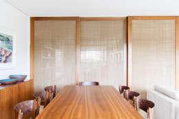 mmagalhães estúdio_Apartamento Parque: Salas de jantar modernas por mmagalhães estúdio