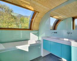 Estudios y oficinas de estilo moderno por pedit&partner architekten
