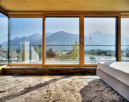 Projekty,  Sypialnia zaprojektowane przez pedit&partner architekten