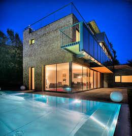 Projekty, nowoczesne Domy zaprojektowane przez pedit&partner architekten