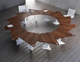 Sala da pranzo in stile in stile Moderno di KAMBIAM (NeuroDesign Furniture for People)