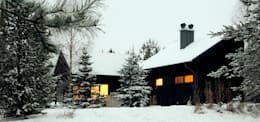 scandinavian Houses by Magdalena Zawada