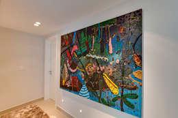 Pasillos y recibidores de estilo  por Lucia Navajas -Arquitetura & Interiores