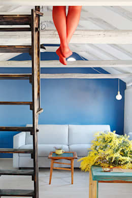 industrial Living room by Sucursal urbana universo Sostenible