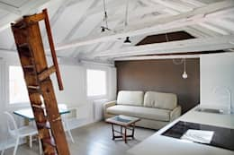 industrial Living room by Sucursal urbana universo Sostenible