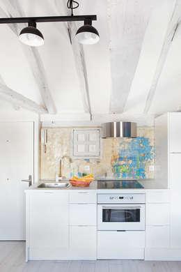 industrial Kitchen by Sucursal urbana universo Sostenible
