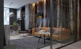 Salas de estilo industrial por Pavel Alekseev