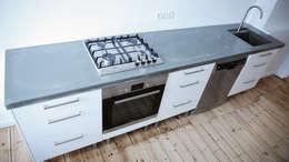 modern Kitchen by Betonwerkstatt