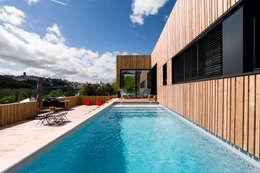 Projekty,  Basen zaprojektowane przez Hugues TOURNIER Architecte