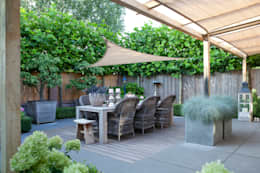 Jardines de estilo rústico por Mocking Hoveniers