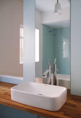 lavabo vasque : Salle de bains de style  par Studio Pan