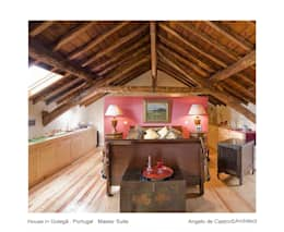 Chambre de style de style Rustique par ADeCArquitetura
