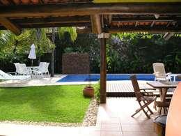Jardin de style de style Tropical par Metamorfose Arquitetura e Urbanismo
