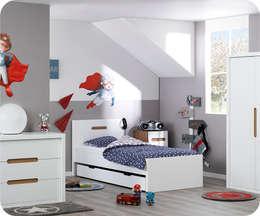 Chambre enfant complète Bow Blanche: Chambre d'enfants de style  par Ma Chambre d'enfant.com